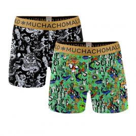 Muchachomalo jongens shorts, 2 pack